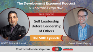 TDE050 - Self leadership before leadership of others - guest Derek Deprey (2)